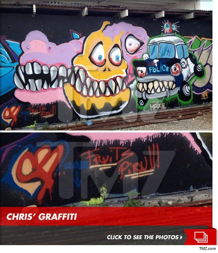 Chris Brown's Graffiti Monsters
