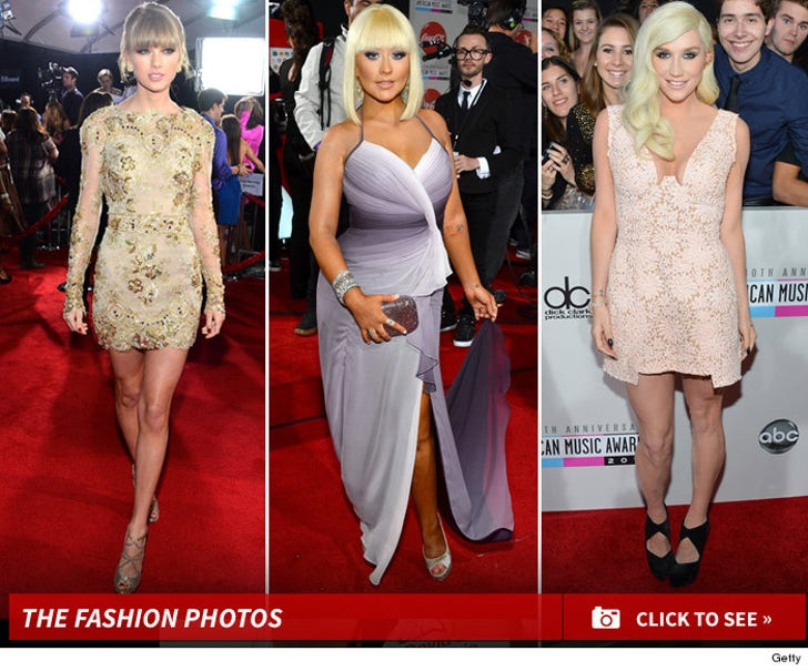 2012 AMA Awards -- Red Carpet Rewind!