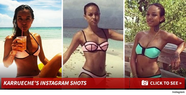 Karrueche Tran's Hot Shots