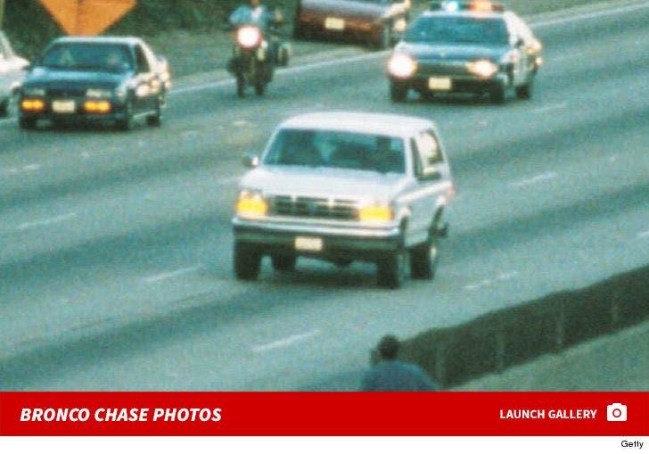 O.J. Simpson -- Bronco Chase Photos