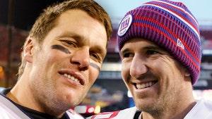 Tom Brady Cracks Joke To Eli Manning, 'Wish You Hadn't Won Any Super Bowls'