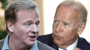 Roger Goodell Urges Joe Biden To Use NFL Stadiums As COVID Vaccine Sites
