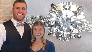 T.J. Watt Balls Out For Fiancee's Engagement Ring, Massive Bling Worth $100K!