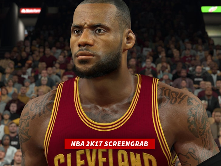 Lebron James Tattoo Artist Sues Nba2k17 You Jacked My Designs