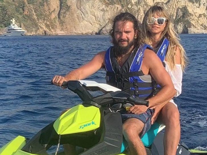 Heidi Klum's Hot Honeymoon In Italy