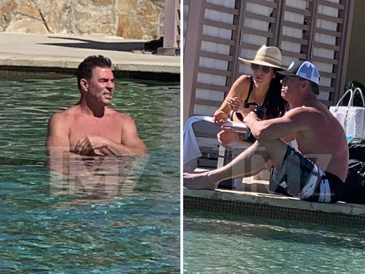 Jim Edmonds and New GF -- Wet And Wild In Cabo