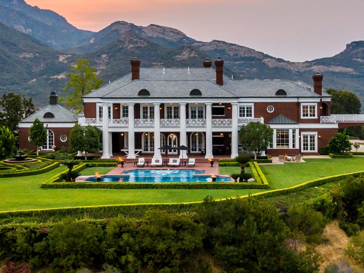 Wayne Gretzky's Thousand Oaks Estate