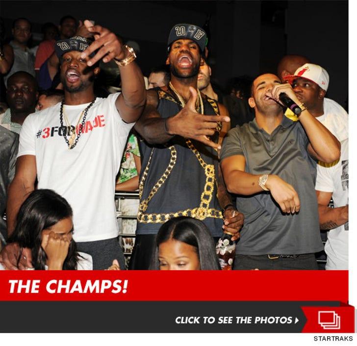 Miami Heat Celebrate NBA Championship