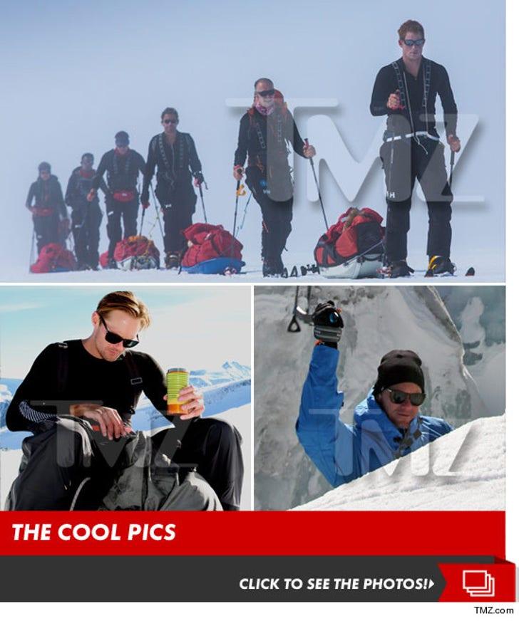 Prince Harry vs. Alex Skarsgard -- Training Their Asses Off for South Pole Showdown