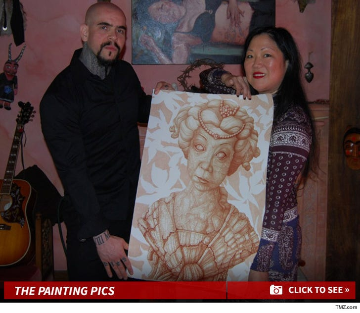 Margaret Cho -- There Will Be Blood ... ON MY WALL AT HOME!