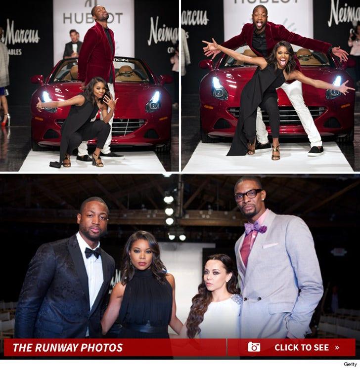Dwyane Wade Fashion Show Photos