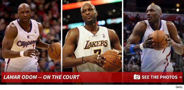 Lamar Odom -- Basketballin'