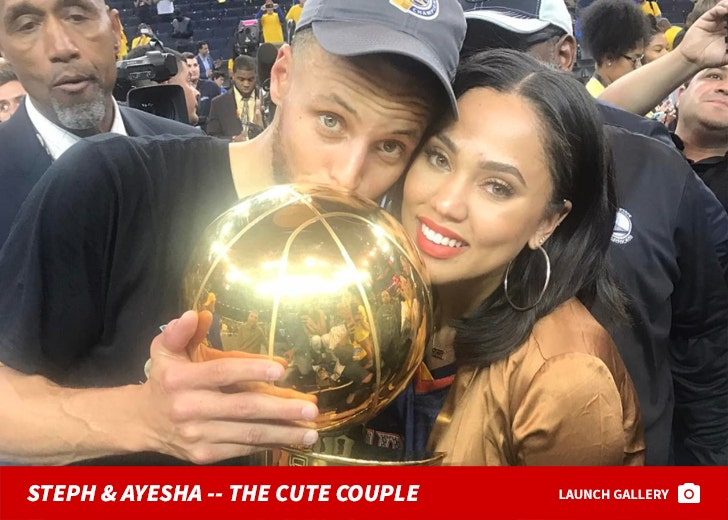Stephen & Ayesha Curry -- The Cute Couple