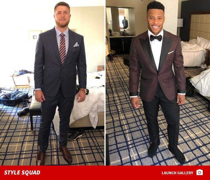 2018 NFL Draft Fashion Photos