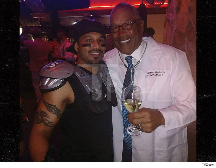 Oj Simpson 2020 Halloween O.J. Simpson's Halloween Costume, Killer Gynecologist