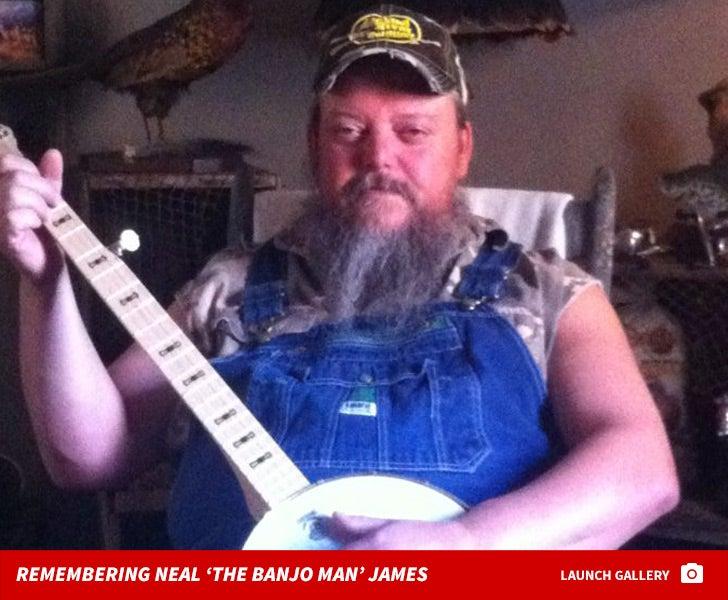 Remembering Neal 'The Banjo Man' James