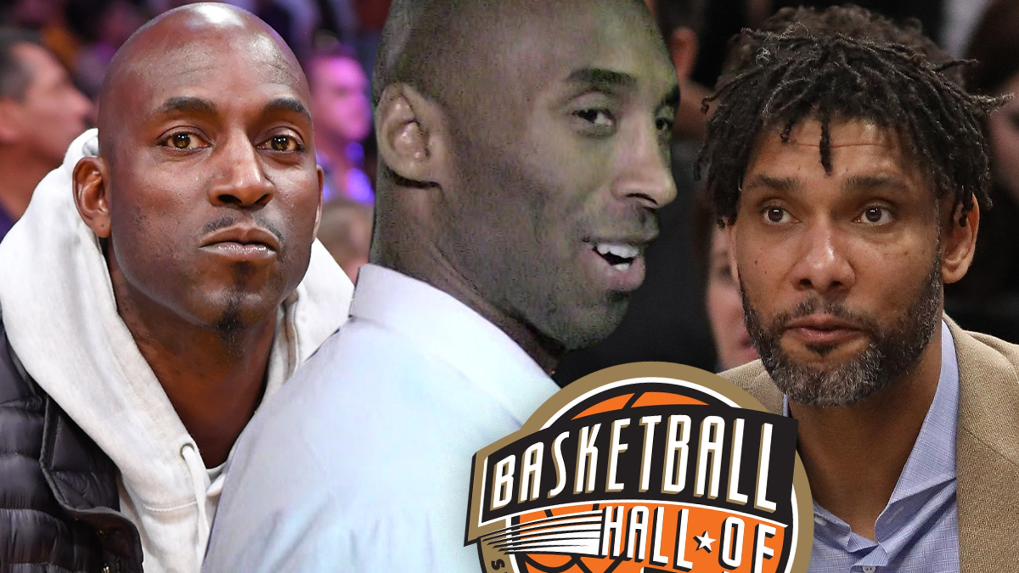 Kobe Bryant To Be Inducted Into Basketball Hall of Fame With KG, Tim Duncan