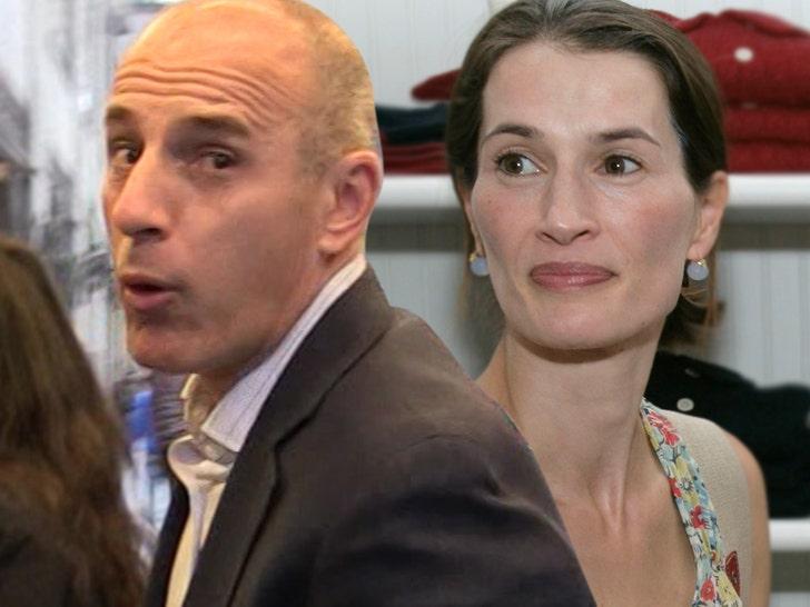 Matt Lauer and Annette Roque Divorce Goes to the Judge