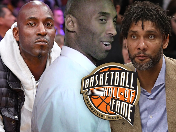Kobe, Duncan, Garnett, Tomjanovich To Be Inducted Into Hall Of Fame