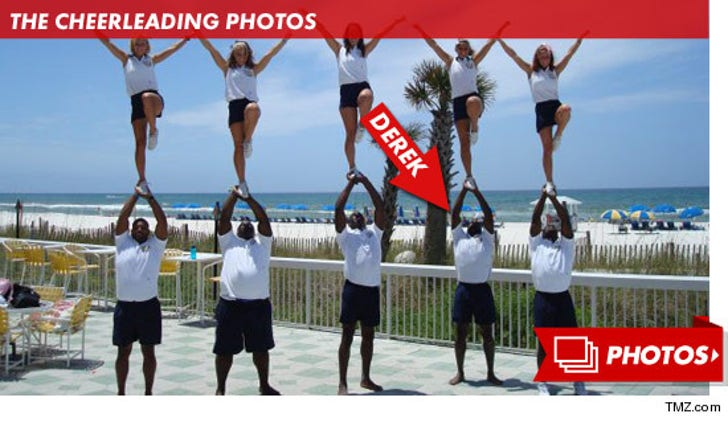 Derek Brunson's Cheerleading Photos