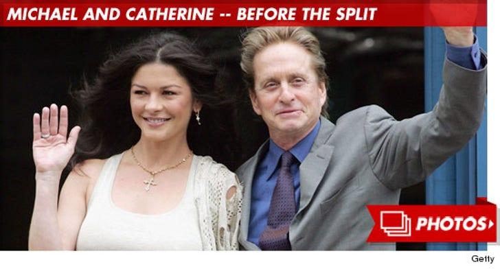 Michael Douglas and Catherine Zeta-Jones Together