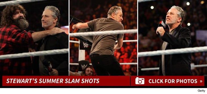 John Stewart's Summer Slam Shots