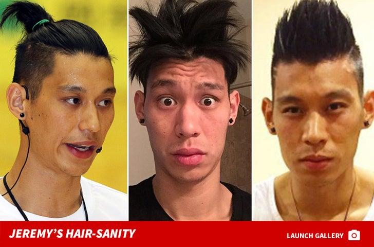 Jeremy Lin's Hair Raising Looks
