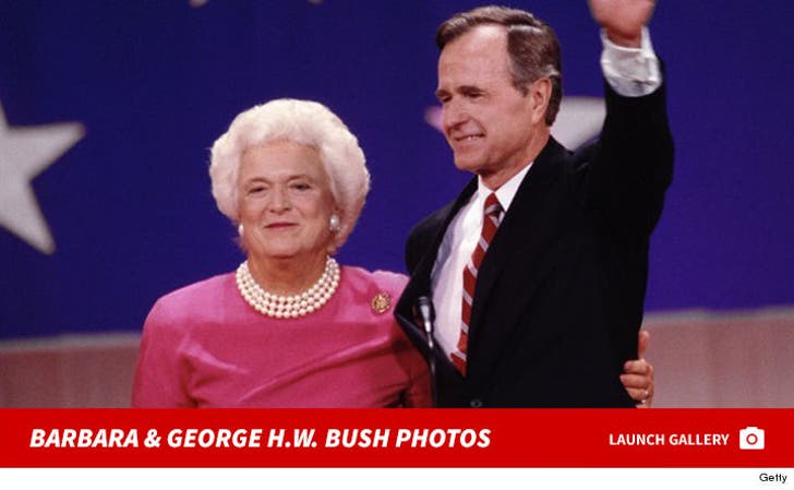 Barbara and George H.W. Bush Photos