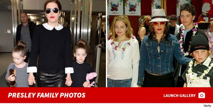 Lisa Marie Presley Family Photos