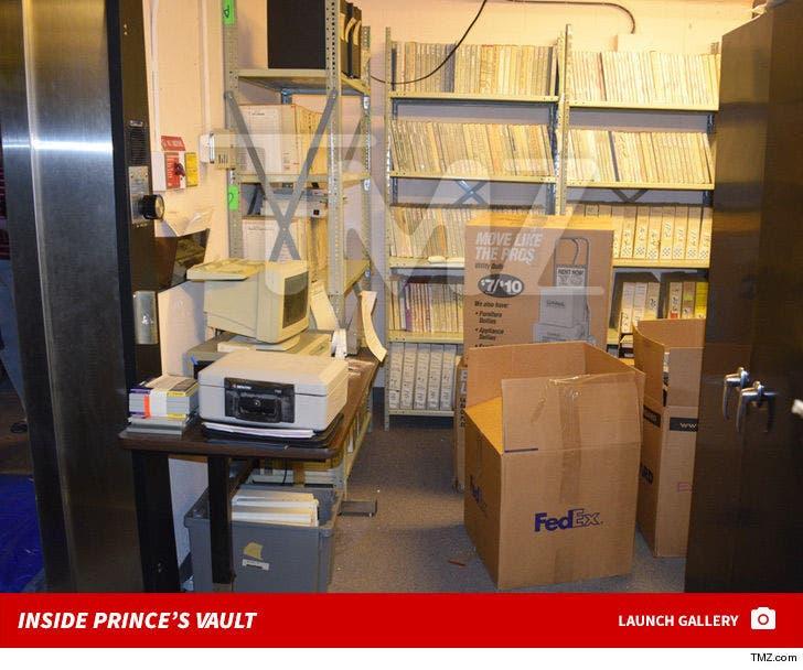 Inside Prince's Vault