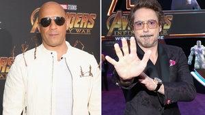 Vin Diesel Rocks Groot Roots At 'Avengers: Infinity War' Premiere