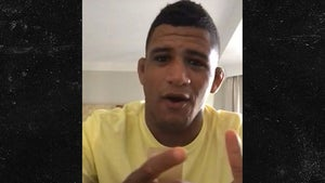 UFC's Gilbert Burns Says Fighting On Sat. Is 'Weird' But Right Decision