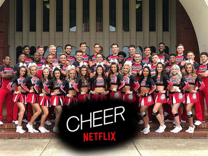 Image result for netflix cheer