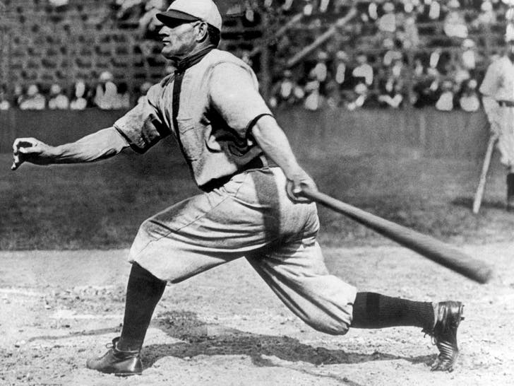 Honus Wagner On The Field