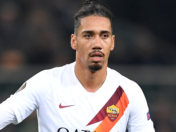Soccer Star Chris Smalling Robbed At Gunpoint By Hooded Men At Italian Home.jpg