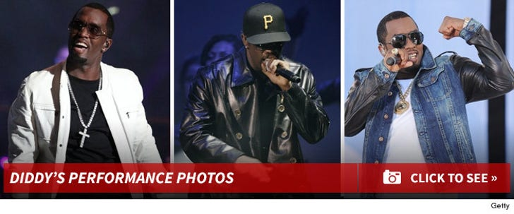 Diddy -- Live Performance Photos