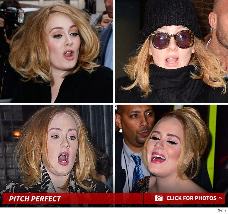 Adele's Resting Pitch Face