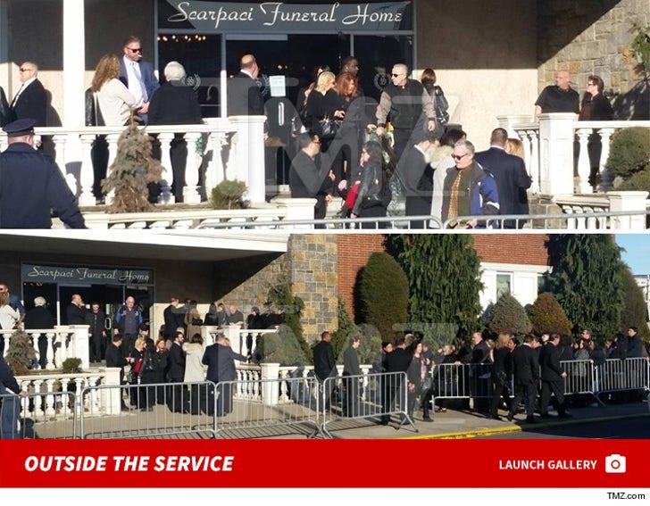 Big Ang Funeral Service