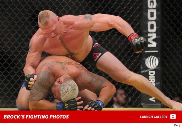 Brock Lesnar's Fight Photos