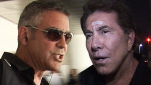 George Clooney, Steve Wynn -- Nuclear Screaming Match After Wynn Called Obama an 'Asshole'