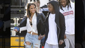 Lil Wayne and Christina Milian -- Sorry 4 the Wait ... We're Finally Going Public