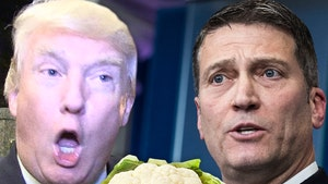 President Trump's Ex-Physician Cops to Slipping Cauliflower into Meals