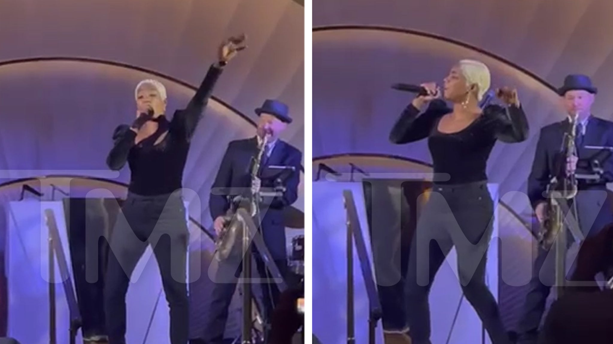 Tiffany Haddish Entertains Dinner Goers with Impromptu Song & Dance thumbnail