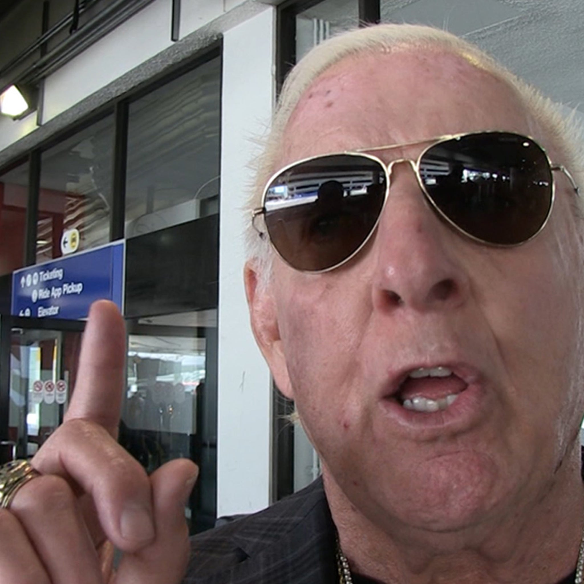 Ric Flair Declares War On WWE Over 'The Man,' You Need To Pay Me!!!