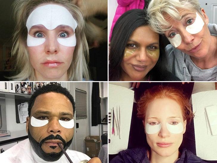 Stars With Under-Eye Patches -- Fresh Start!