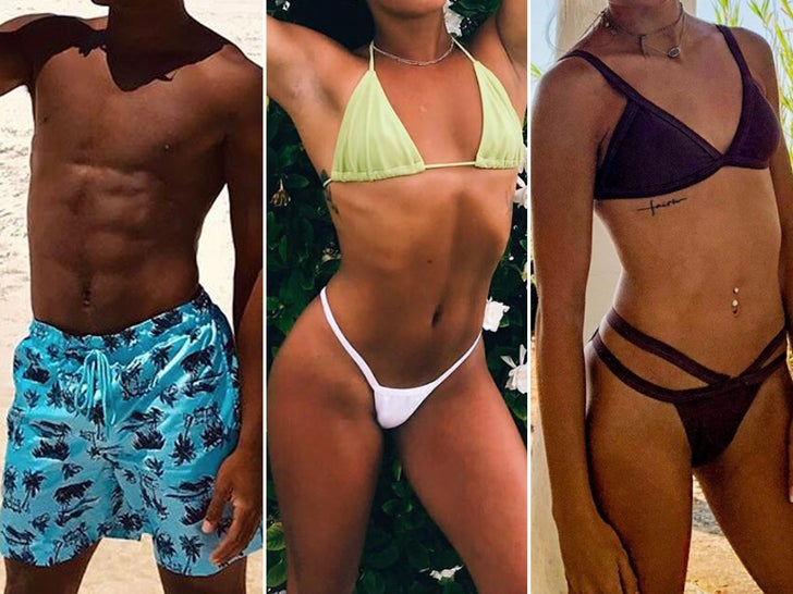 'Cheer' Cast Hot Bods -- Guess Who!