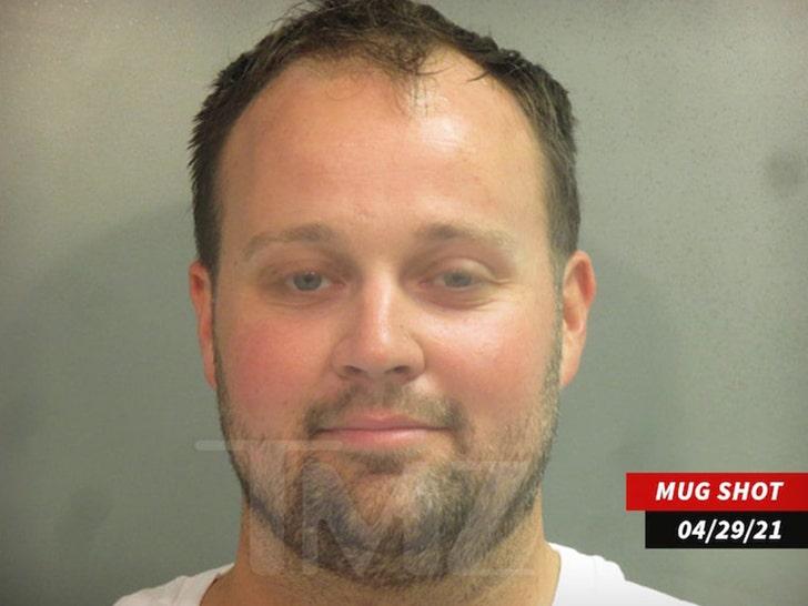 Josh Duggar mug shot