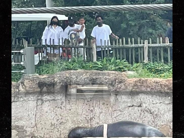 Kylie Jenner and Travis Scott Take Stormi to Houston Zoo