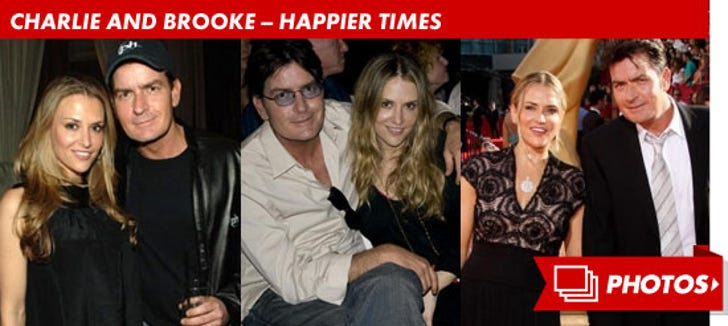 Charlie Sheen and Brooke Mueller -- Before The Split