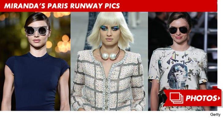 Miranda Kerr's Paris Fashion Week Photos